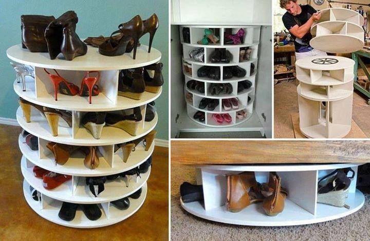 45 Adorables y practicas ideas para organizar tus zapatos y ...
