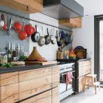 cocina en Madera y en Color Negro 11
