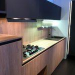 cocina en Madera y en Color Negro 18