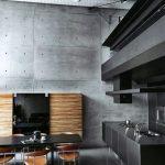 cocina en Madera y en Color Negro 21