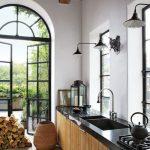 cocina en Madera y en Color Negro 23