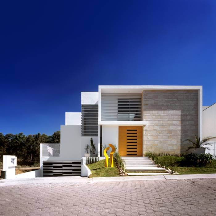 Casa m contemporanea arquitectura para esta casa for Arquitectura moderna casas pequenas