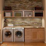 36 ideas para decorar y organizar tu cuarto de lavado - 02