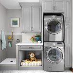 36 ideas para decorar y organizar tu cuarto de lavado - 03