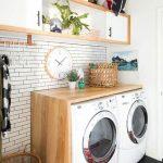 36 ideas para decorar y organizar tu cuarto de lavado - 04