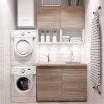 36 ideas para decorar y organizar tu cuarto de lavado - 06