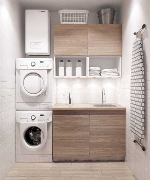 36 ideas para decorar y organizar tu cuarto de lavado for Como arreglar tu habitacion