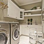 36 ideas para decorar y organizar tu cuarto de lavado - 10