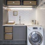 36 ideas para decorar y organizar tu cuarto de lavado - 13