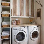 36 ideas para decorar y organizar tu cuarto de lavado - 17