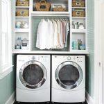 36 ideas para decorar y organizar tu cuarto de lavado - 18