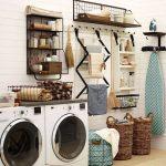 36 ideas para decorar y organizar tu cuarto de lavado - 19