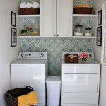 36 ideas para decorar y organizar tu cuarto de lavado - 23
