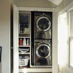 36 ideas para decorar y organizar tu cuarto de lavado - 36