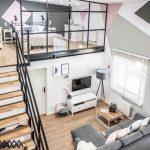 35 ideas de aplicación de pisos de madera laminada (12)