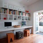 35 ideas de aplicación de pisos de madera laminada (19)