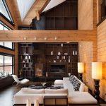 35 ideas de aplicación de pisos de madera laminada (24)