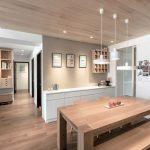 35 ideas de aplicación de pisos de madera laminada (27)