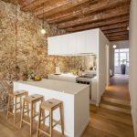 35 ideas de aplicación de pisos de madera laminada (32)