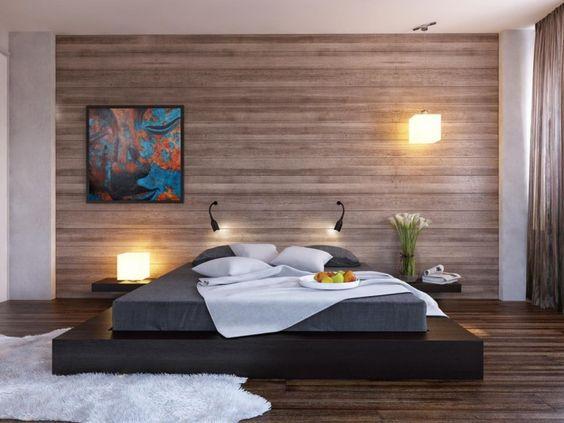 35 ideas de aplicación de pisos de madera laminada (4)
