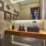 44 ideas para decorar y organizar baños pequeños (19)