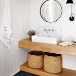 44 ideas para decorar y organizar baños pequeños (20)