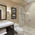 44 ideas para decorar y organizar baños pequeños (21)