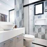 44 ideas para decorar y organizar baños pequeños (35)