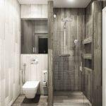 44 ideas para decorar y organizar baños pequeños (37)