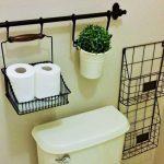 44 ideas para decorar y organizar baños pequeños (39)