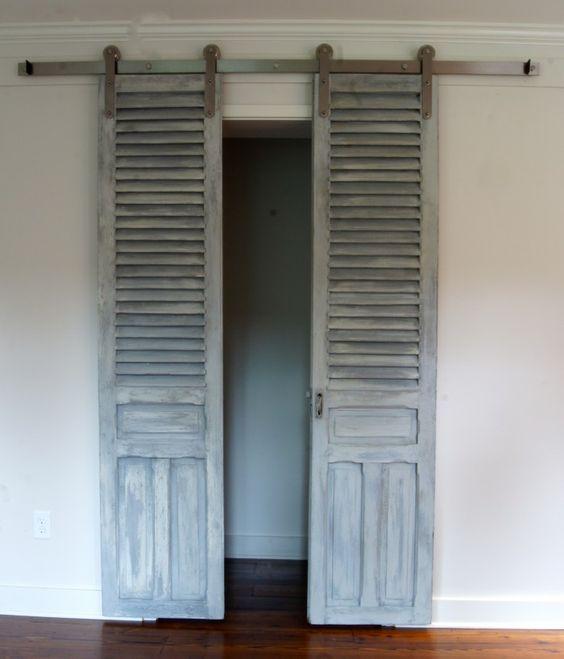 56 Modelos de puertas corredizas ideales para espacios pequeños ...
