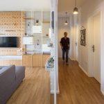 Mini apartamento lleno de ideas creativas de almacenamiento y decoración 02