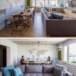 Mini apartamento lleno de ideas creativas de almacenamiento y decoración 03