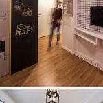 Mini apartamento lleno de ideas creativas de almacenamiento y decoración 09