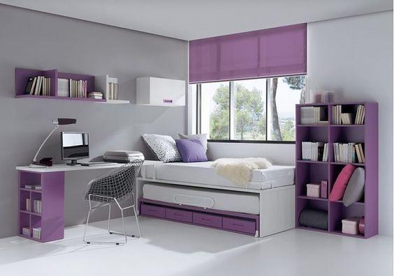 Dormitorios juveniles 3 interiores for Disenos de interiores de cuartos juveniles