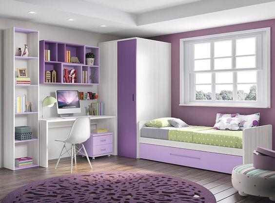 Dormitorios Juveniles 4 Interiores