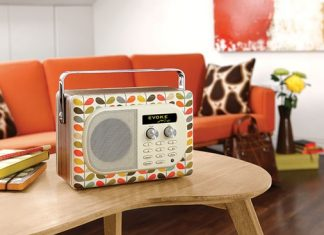Evoke Mio un Radio de Diseño Retro Colorido