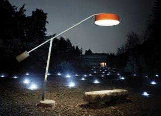 Lámpara de Pie para Exterior e Interior