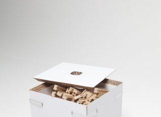 Muebles de cartón por Järvi y Ruoho