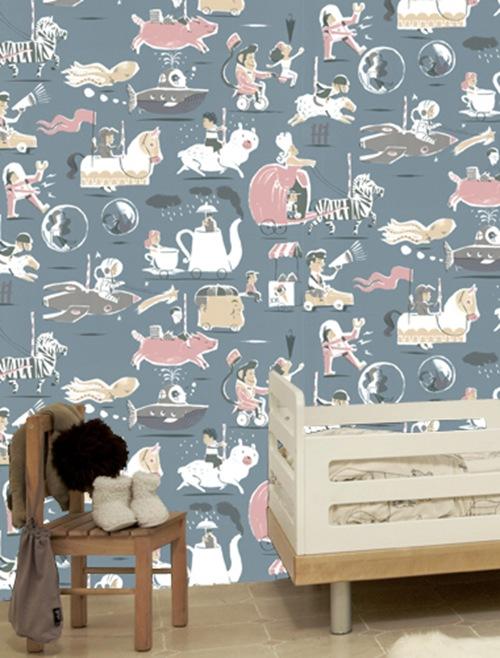 Decorando con arte las paredes del cuarto de tus hijos