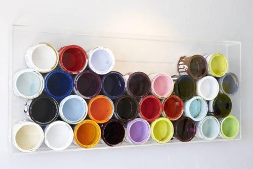 Decorando y reciclando con cubetas de pintura