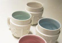 La taza Sweater: Es de Porcelana pero parece de lana