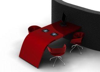 DuPont Corian: Mesa de Conferencias con apoyo iPad