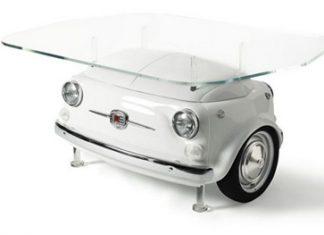Espectacular colección de muebles inspirados en el Fiat 500