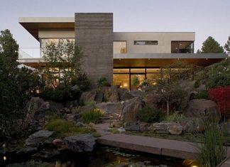 La residencia de Kern en el Castle Pines, Colorado