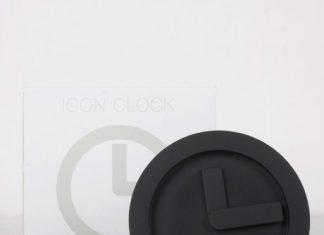 Icon Clock, un icono minimalista en relojes de mesa