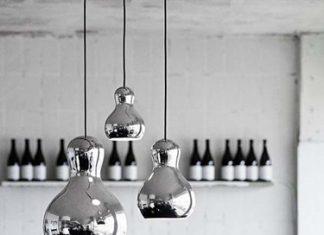 Calabash las lámparas de techo elegantes