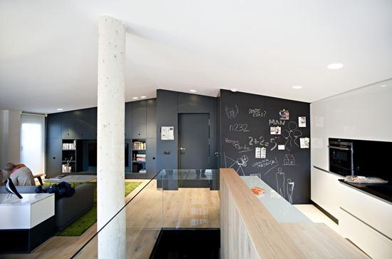Casa de diseño: Duplex 0710 – Desarrollado para una pareja de jóvenes